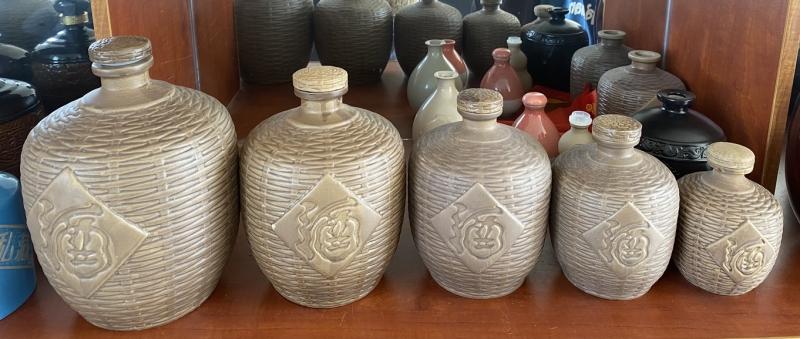 烤花酒字瓶